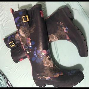 Joules Rain Boots . Size 9.